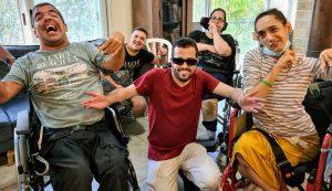 פעילות בקייטנה. אווירה של שיתוף וצחוק צילום: אור אבן חן